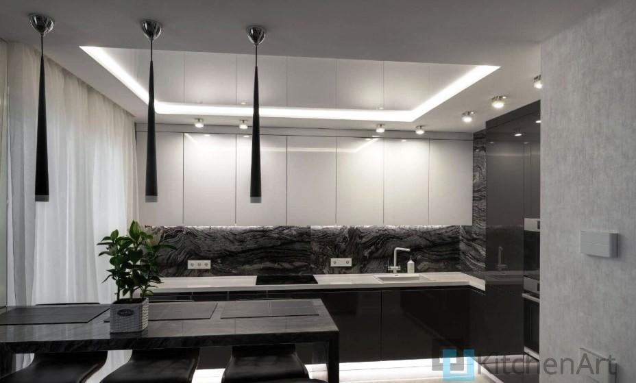 китченарт257 - Белая кухня на заказ