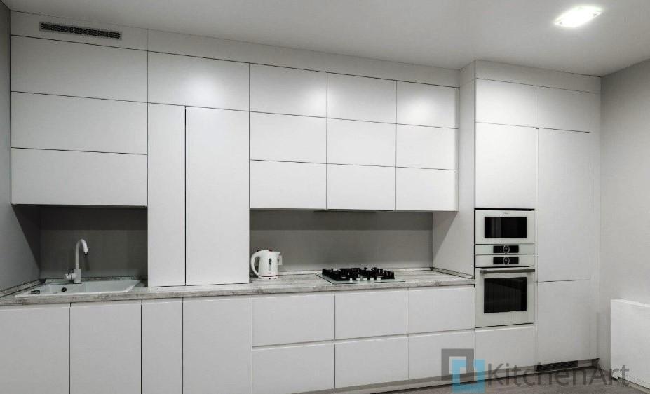 китченарт258 - Белая кухня на заказ