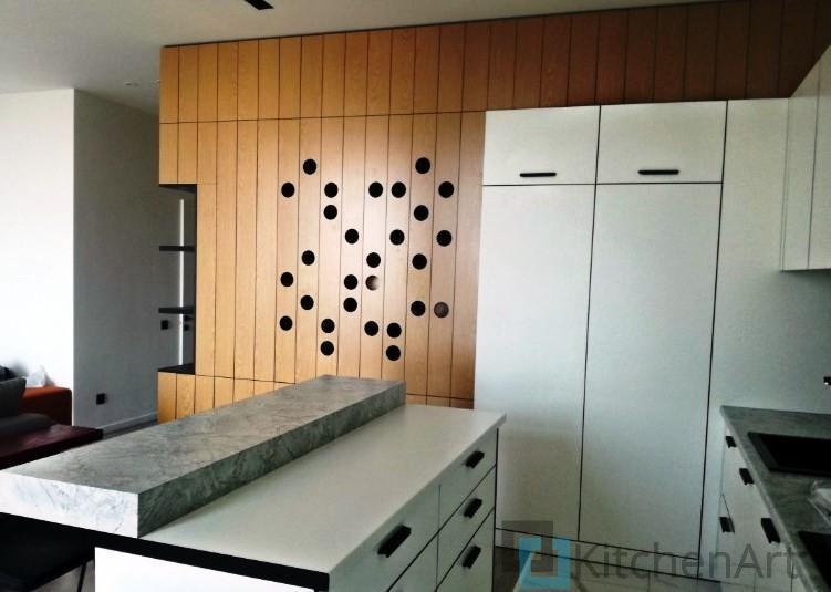 китченарт26 - Белая кухня на заказ