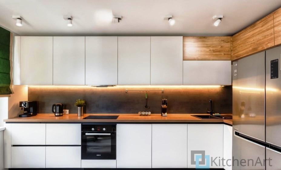 китченарт260 - Белая кухня на заказ