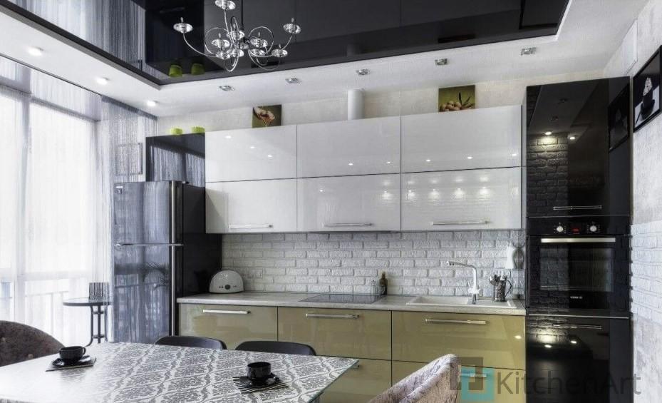 китченарт262 - Белая кухня на заказ