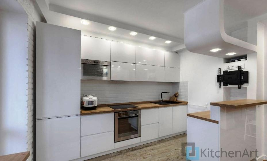китченарт265 - Белая кухня на заказ