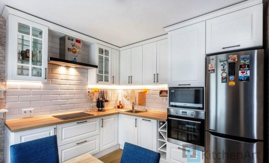китченарт268 - Белая кухня на заказ