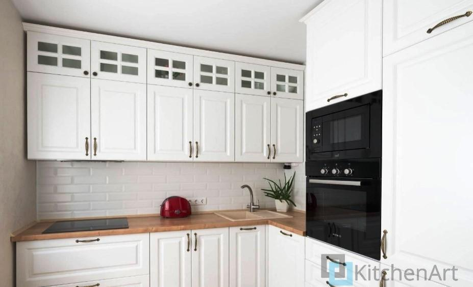 китченарт269 - Белая кухня на заказ