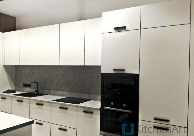 китченарт27 - Белая кухня на заказ