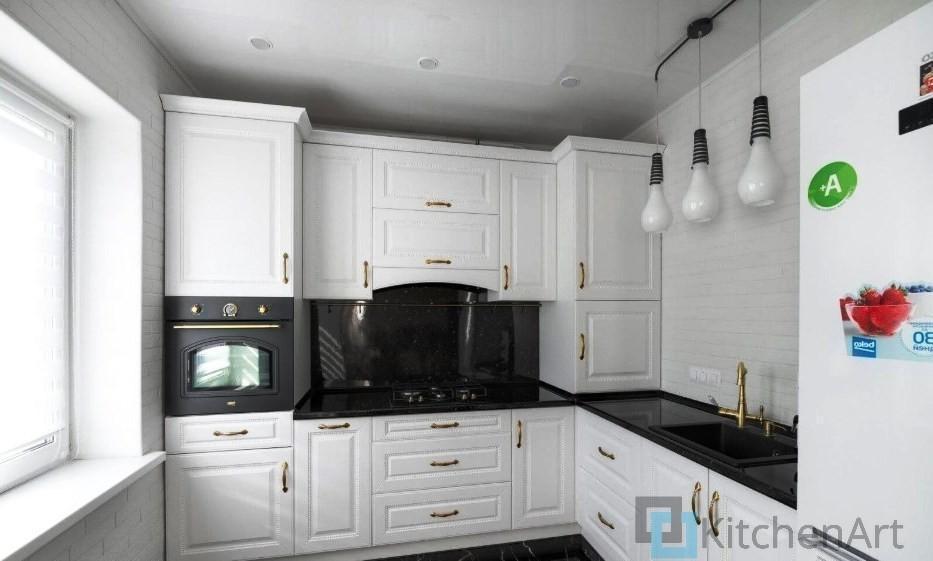 китченарт271 - Белая кухня на заказ