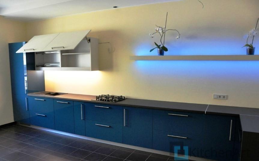 китченарт35 - Синяя кухня на заказ