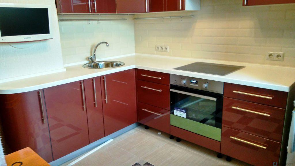 китченарт90 1024x576 - Кухня из ДСП на заказ