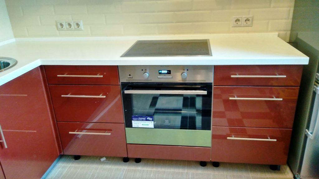 китченарт92 1024x576 - Кухня из ДСП на заказ