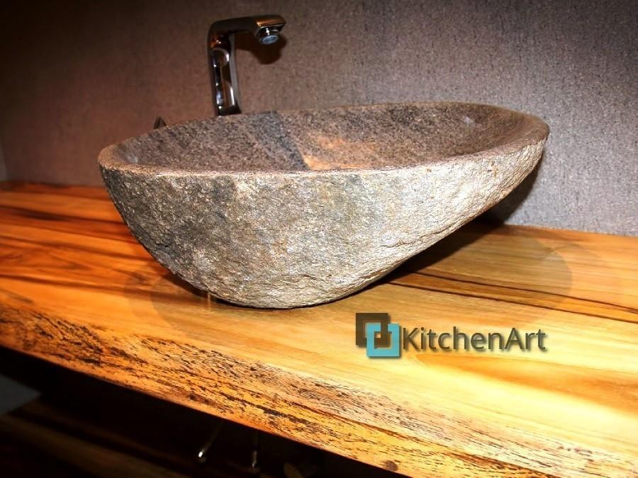 stoleshnica v vannuju 5 - Столешницы из дерева в ванную под заказ