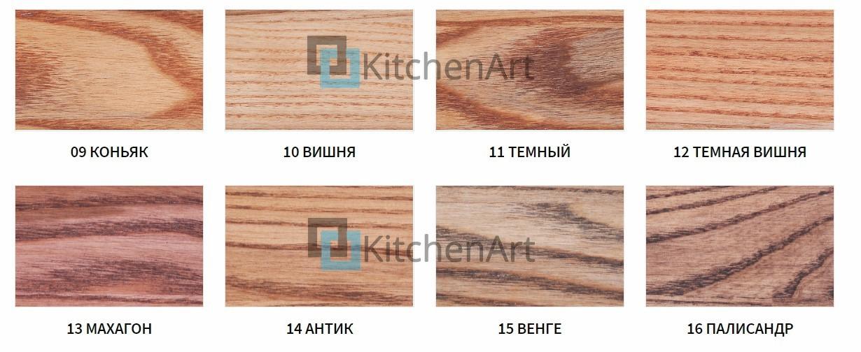 vidy vykrasok jasen2 - Стол из дерева на заказ Полтава